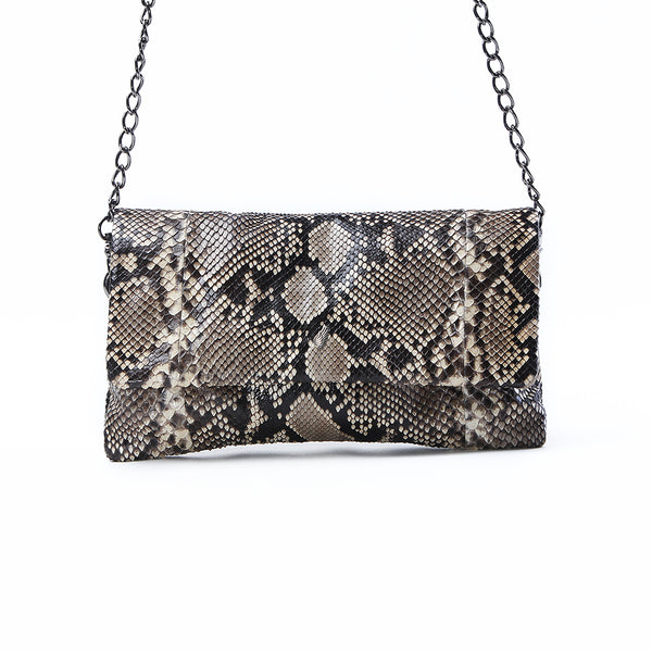 Love Multi Chain Strap Clutch Antique