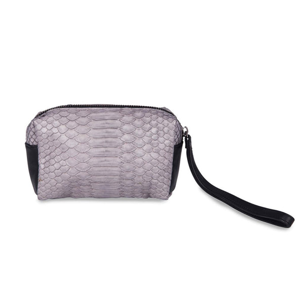 Rose Small Pouch Bag – Light Grey