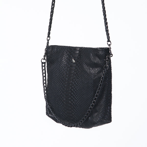 Slash Chain Bag Black