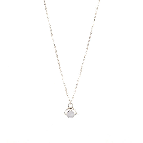 Forget-me-Knot Eternity Necklace