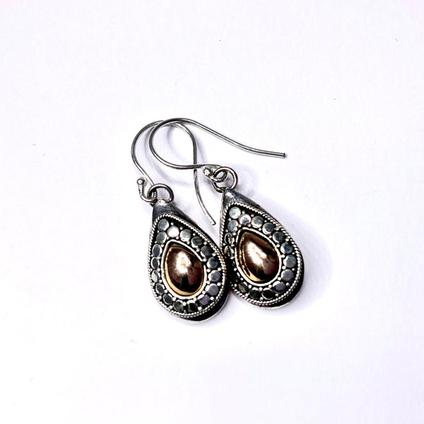 Guardian earrings - 'Dotty Drop'