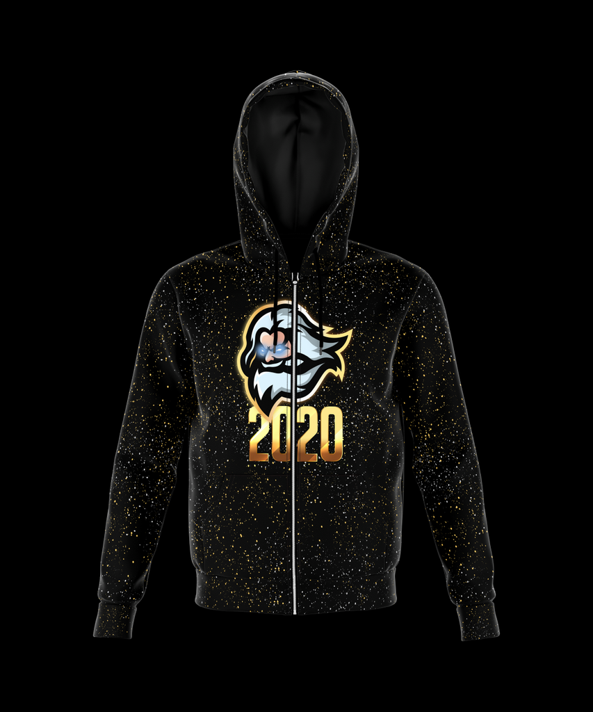 Electricity Wave Zeuss 2020 Zip Up Hoodie