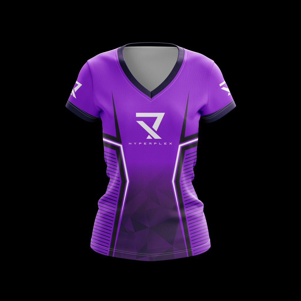 Women's Hyperplex Purple  Jersey