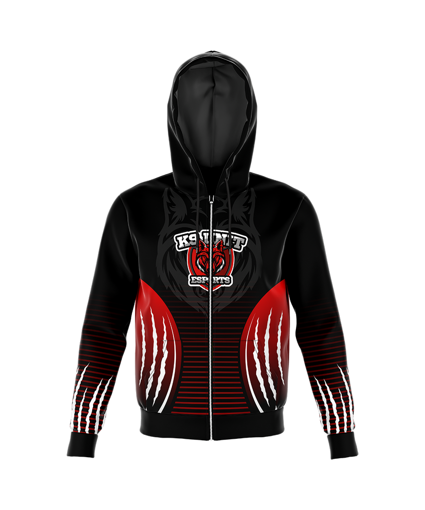 K9 UNIT ESPORTS ZIP UP HOODIE