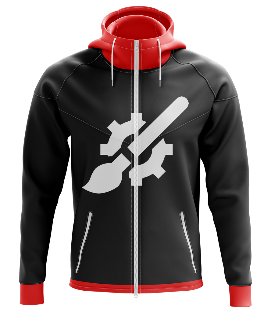 Custom Zip Up Hoodie Design