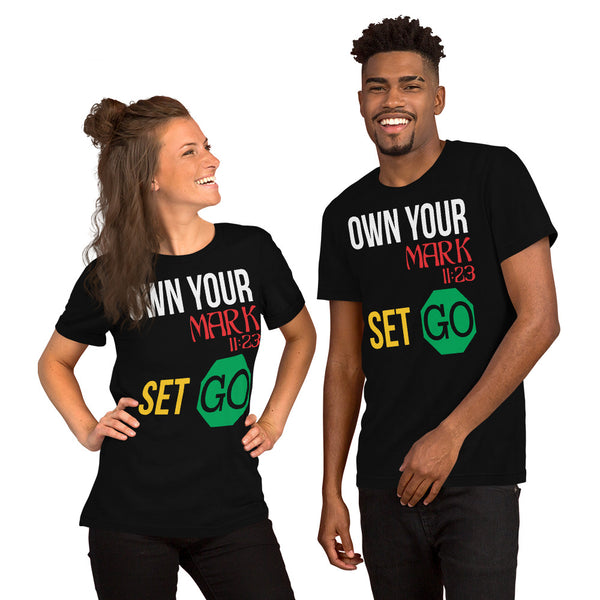 Own Your Mark Men & Women T-shirt, Short-Sleeve