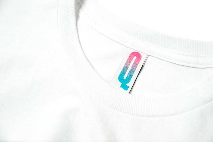 QUCON x FRAGMENT TEE TYPE-02 WHITE