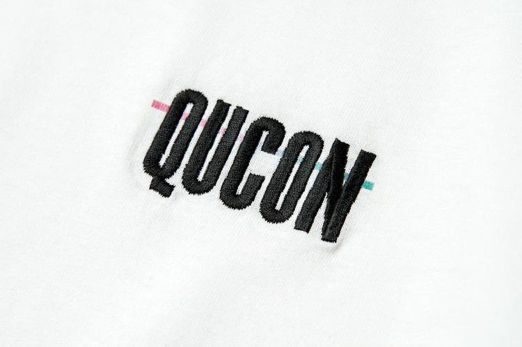 QUCON OFFICIAL TEE WHITE