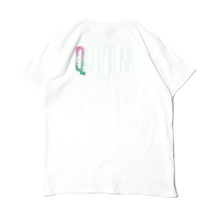 QUCON OFFICIAL TEE TYPE 2 WHITE