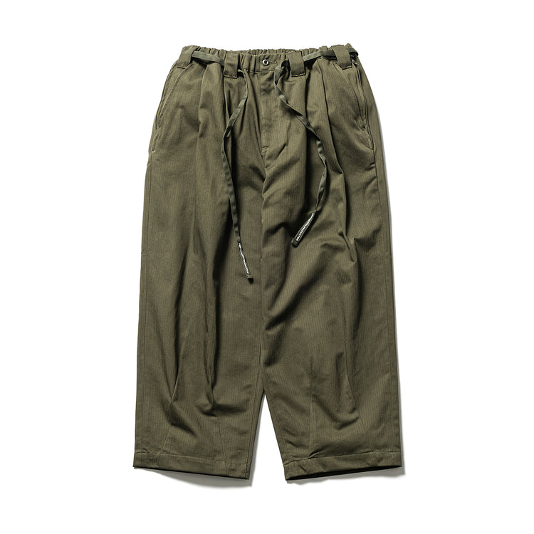 Tightbooth  HERRINGBONE BAGGY SLACKS
