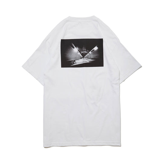 QUCON DAIDO TEE TUNNEL WHITE