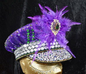 Deep Purple Festival Hat - JewelBritanniaHats