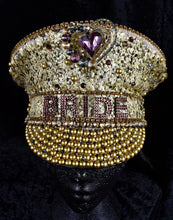 Load image into Gallery viewer, Golden Bride Hen Party Hat