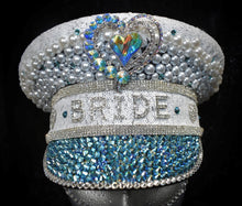 Load image into Gallery viewer, Ice White Hen Party Hat - JewelBritanniaHats