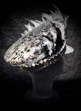 Load image into Gallery viewer, Fade to Grey Festival Hat - JewelBritanniaHats