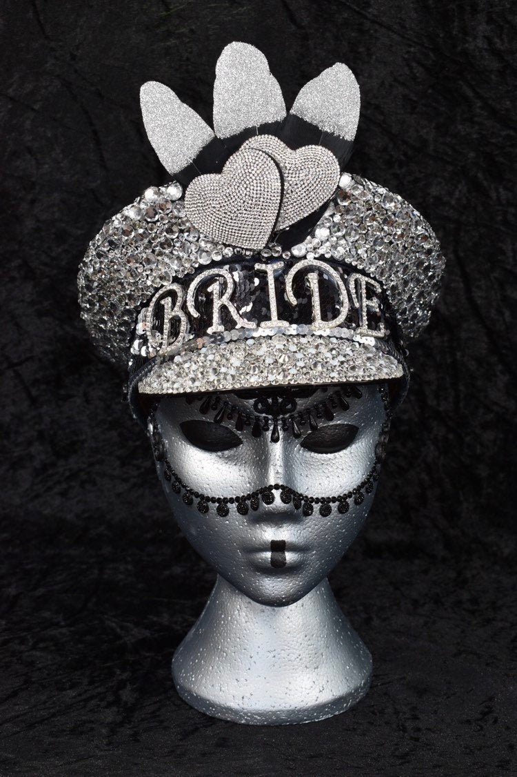 London Bride Hen Party Hat - JewelBritanniaHats
