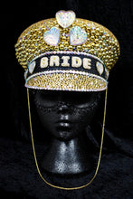 Load image into Gallery viewer, Golden Pearl Hen Party Hat - JewelBritanniaHats