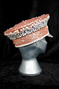 Pink Pearl Hen Party Hat - JewelBritanniaHats