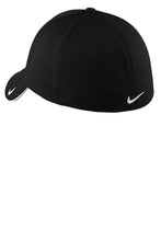 Load image into Gallery viewer, Nike Dri-FIT Mesh Swoosh Flex Sandwich Cap