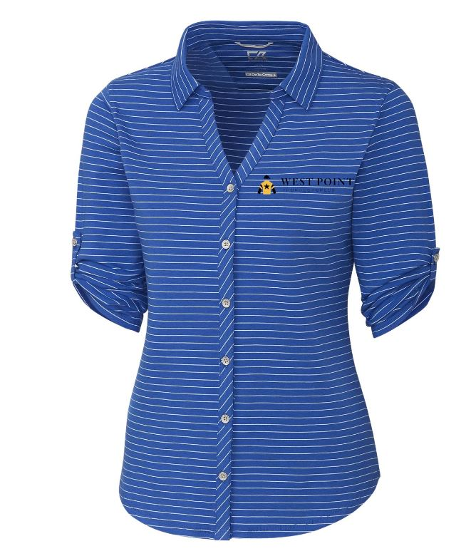 Cutter & Buck Ladies Academy Stripe