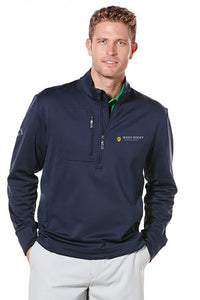 CALLAWAY TUNDRA FLEECE 1/4-ZIP STRETCH PULLOVER