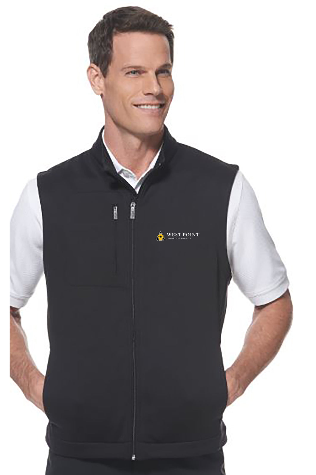 CALLAWAY FULL-ZIP FLEECE VEST