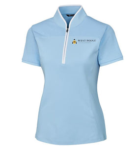 Cutter & Buck Ladies Zip Mock