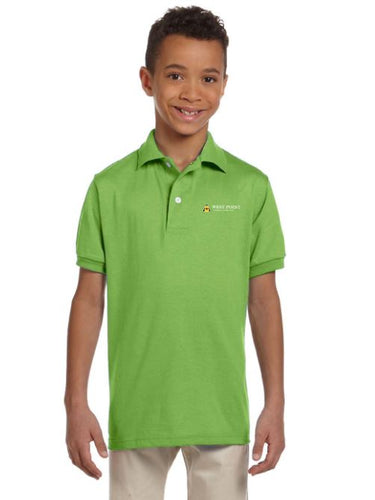 Jerzees Youth 5.6 oz. SpotShield™ Jersey Polo