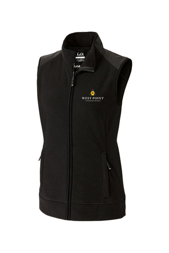 Ladies Cutter & Buck Cedar Park Full Zip Vest