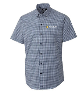 Cutter & Buck Men's Anchor Gingham Short Sleeve