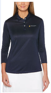 Ladies Callaway 3/4 Sleeve Core Performance Polo