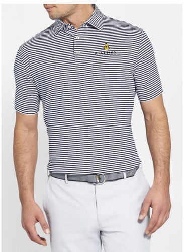 Peter Millar Competition Stripe Performance Polo