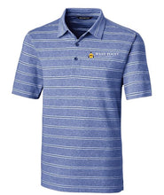 Load image into Gallery viewer, Cutter & Buck Forge Polo Heather Stripe