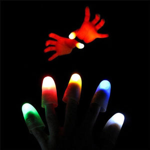 Light up Thumbs Magic Trick Flashing Fingers Luminous Gifts - Secret Lake Store
