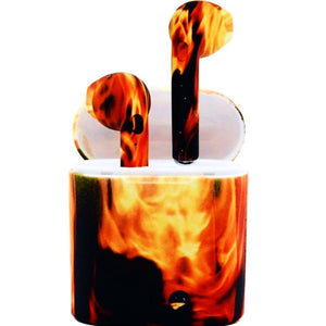Blazing Fire Wireless Earpods Compatible With Apple & Andriod - Secret Lake Store