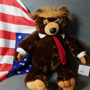 TRUMP TEDDY BEAR - Secret Lake Store