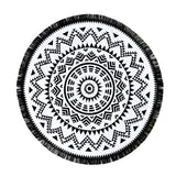 Mandala Beach Throw