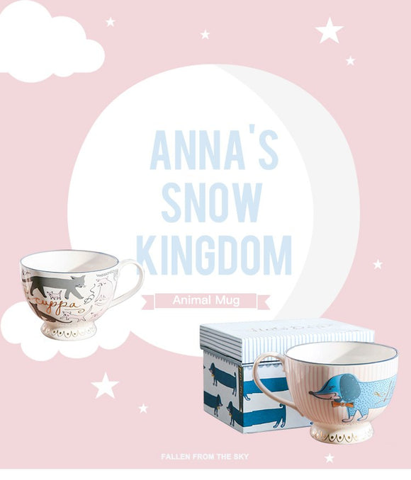 Anna's Snow Kingdom - Pet Mug