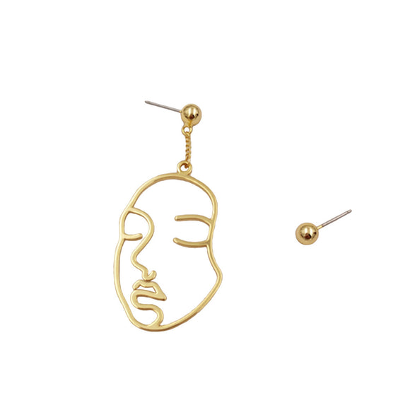 The Face of Music - Earrings