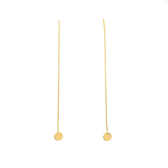 Threader Drop Dangle Earrings