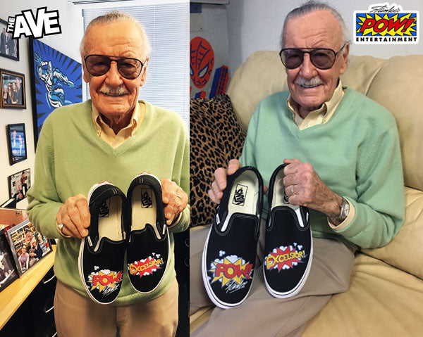 ea599fa4b8 Legendary Comic Book Writer Stan Lee Joins Forces With The Ave for Custom