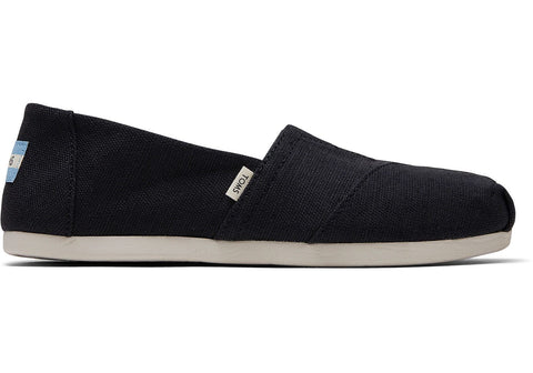 Custom Slip-On Toms - Classic Alpargata - Black