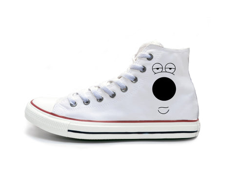 Family Guy Brian Face Chucks