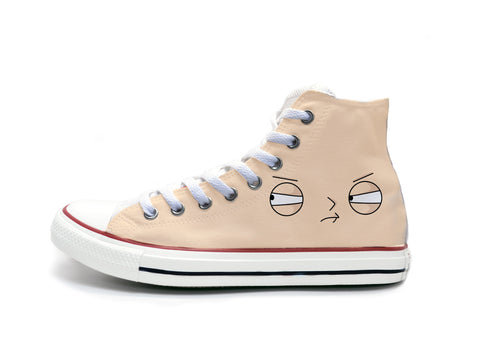Family Guy Stewie Face Chucks