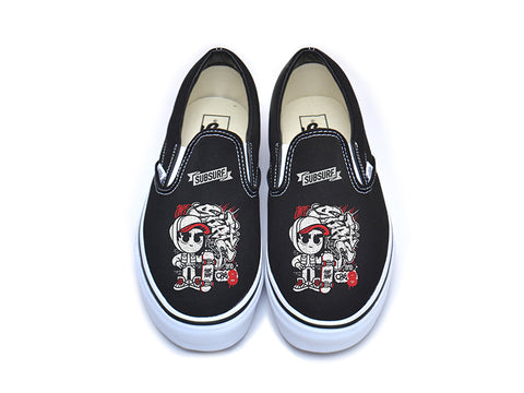 SUBSURF® Black Book- Jake Slip On Vans