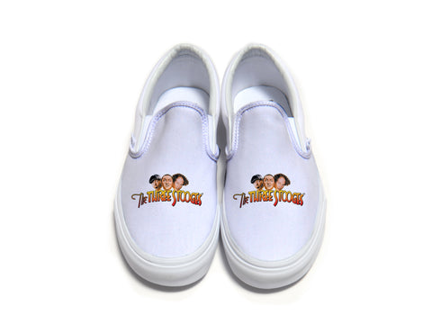 The Three Stooges - Official Logo Vans