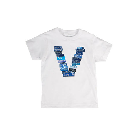 "Venice ""V"" Streetsigns Shirt"