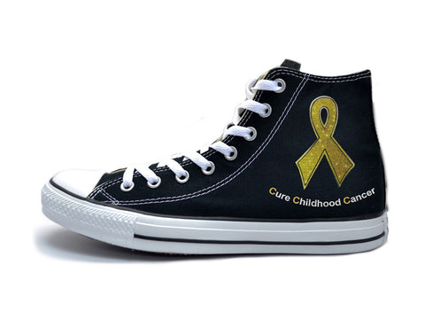 The Ave X Cure Childhood Cancer Chucks