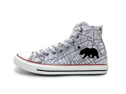 LA Road Maps Chucks