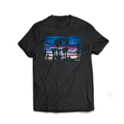 "Venice Life Collection - ""Fire In The Sky"" Tee"